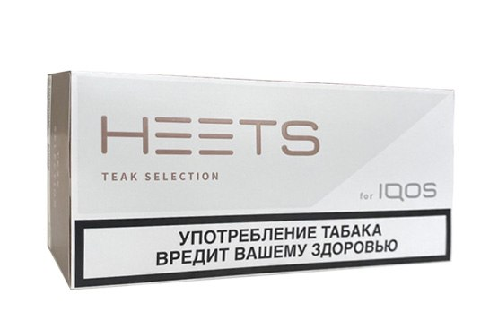 IQOS Heets Teak Selection Parliament Russia